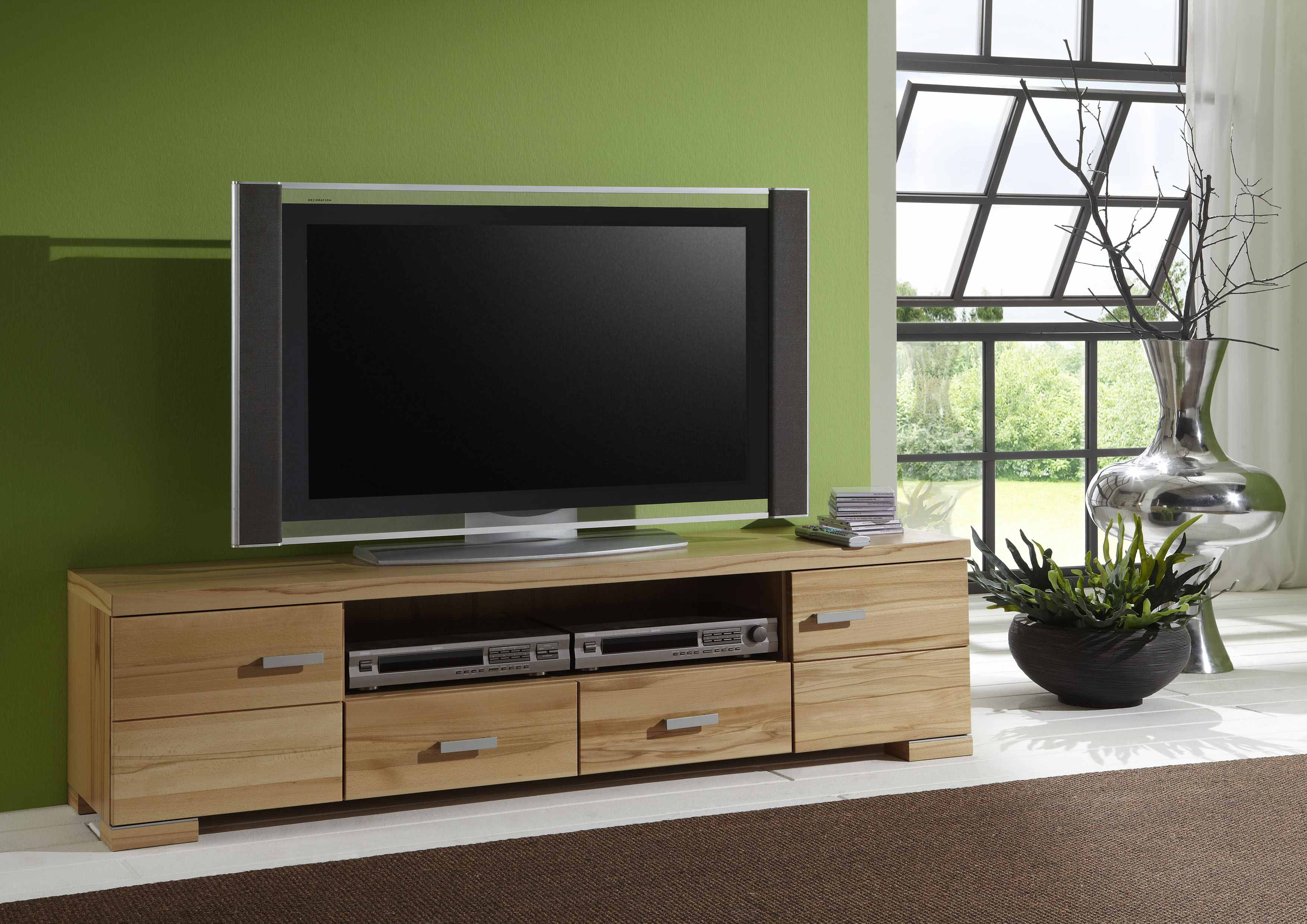 lowboard cambia tv lowboards tv hifi m bel wohnzimmer m. Black Bedroom Furniture Sets. Home Design Ideas